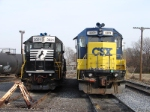 NS 3021 & CSX 4409